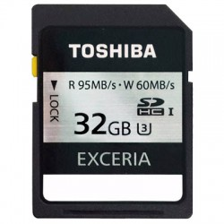 TOS SDHC 32GB EXCERIA