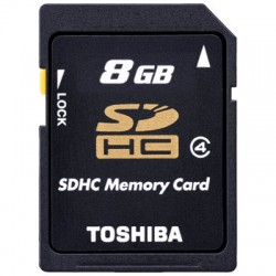 TOS SDHC 8GB CLASS 4 HS STANDARD NEW