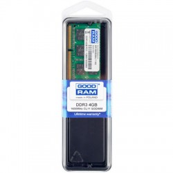 GRAM DDR3 4 GB 1600MHZ SODIMM