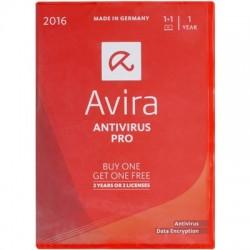 AVIRA ANTIVIRUS PRO BOX 2016 2 DEVICES 1 YEAR