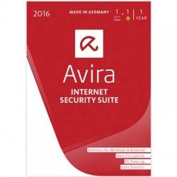 AVIRA INTERNET SECURITY SUITE BOX 2016 1PC+1ANDR