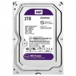 WD PURPLE 3TB 3.5""