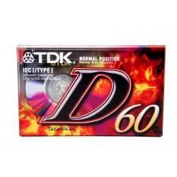 ΚΑΣΣΕΤΑ ΗΧΟΥ TDK-D60