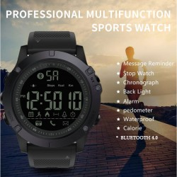SMART WATCH MILITARY BLACK